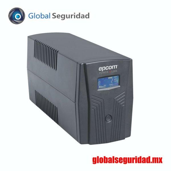 EPU850LCD UPS de 850VA/510W con Display LCD y Regulador de Voltaje AVR