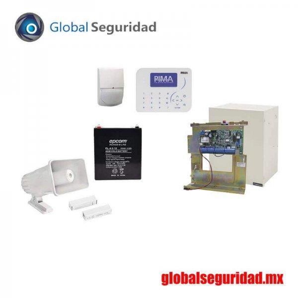 FORCE32KIT Kit de Alarma con Sensores cableados
