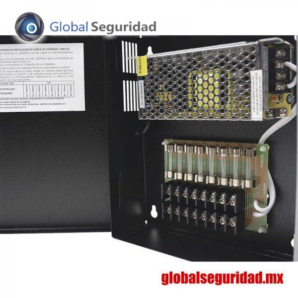 GRT1204VDCV3 Fuente de poder para CCTV 8 salidas - foto 3