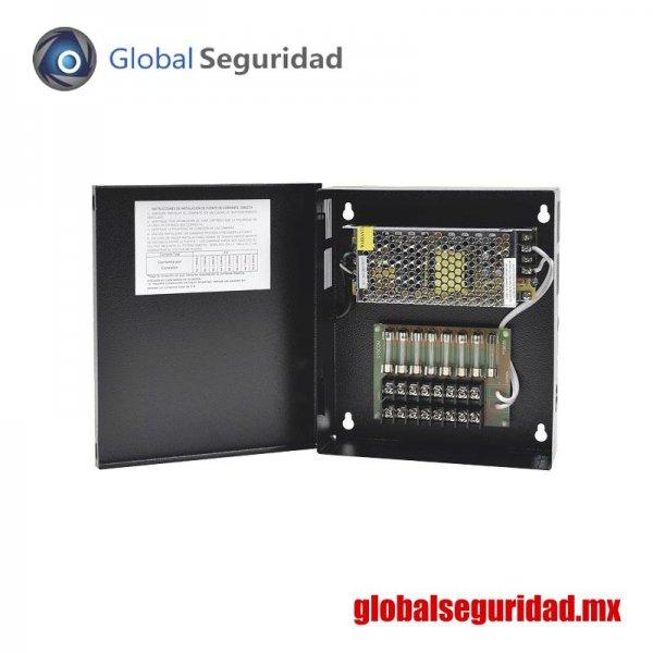 GRT1204VDCV3 Fuente de poder para CCTV 8 salidas
