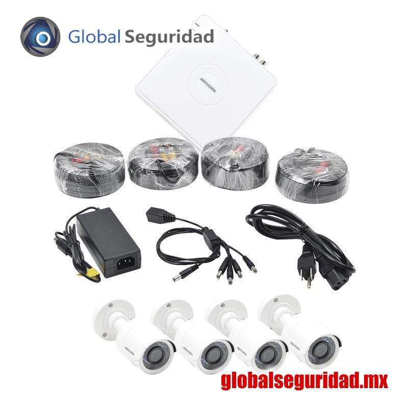 HIK1080KIT8 Sistema Completo de CCTV 1080p