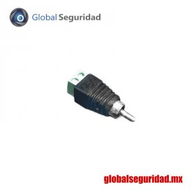 JRR591 Adaptador RCA Macho para video o audio atornillable