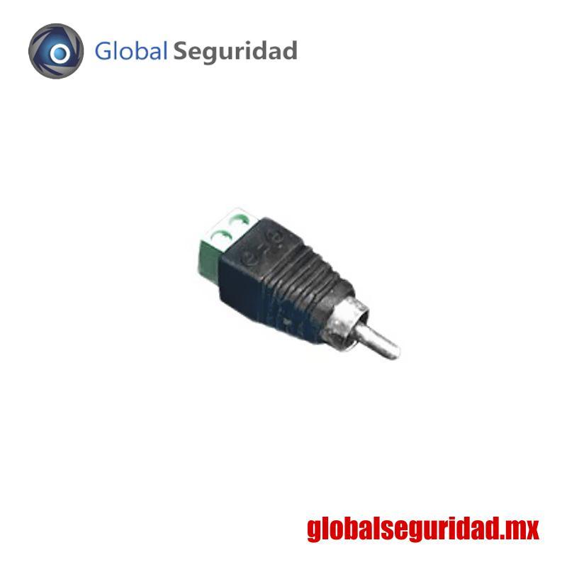 JRR591 Adaptador RCA Macho para video o audio atornillable