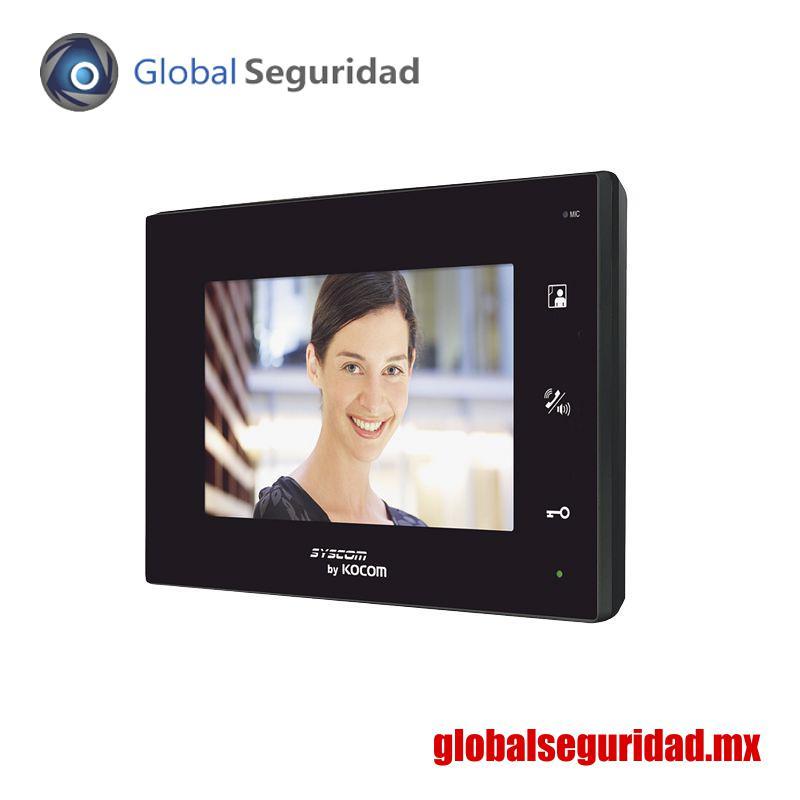 """KCVA374B Monitor adicional manos libres LCD a color de 7"""""""