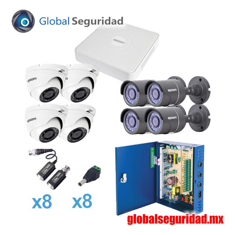 KESTXLT4B4EW Sistema TURBO HD720p 8 cámaras