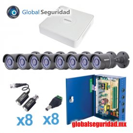 KESTXLT8B Sistema TURBO HD720p