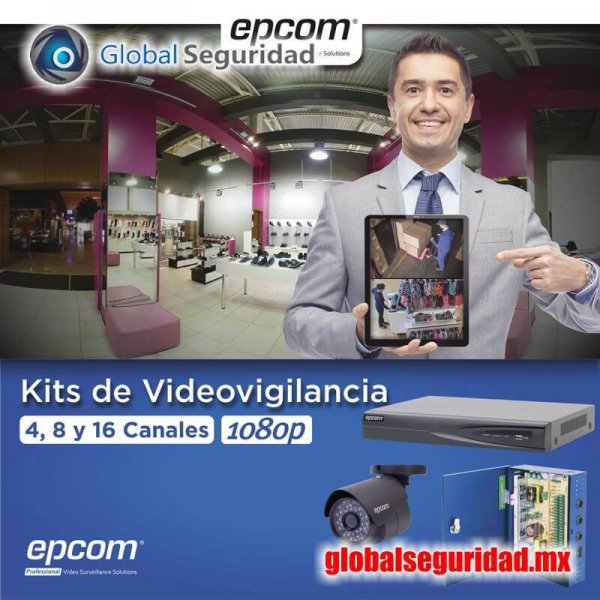 KEVTX8T16B Kit TURBOHD 1080p DVR 8 Canales - foto 1