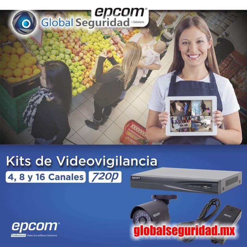 KEVTX8T4B Kit TURBOHD 1080p DVR 4 Canales - foto 1