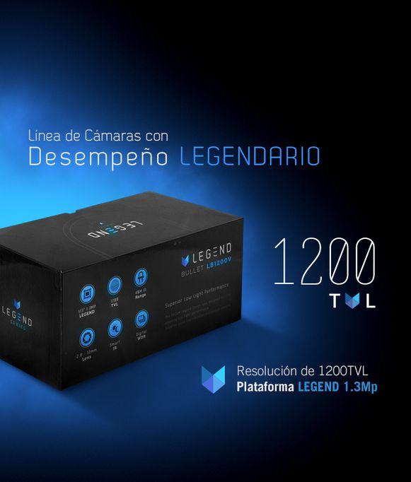 LB1200VW Cámara Analógica Bala 1200TVL - foto 1