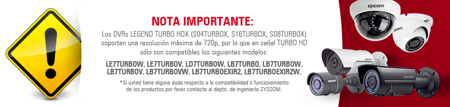 S04TURBOX DVR 4 canales LEGEND TurboHD 3.0 (720P) - foto 3