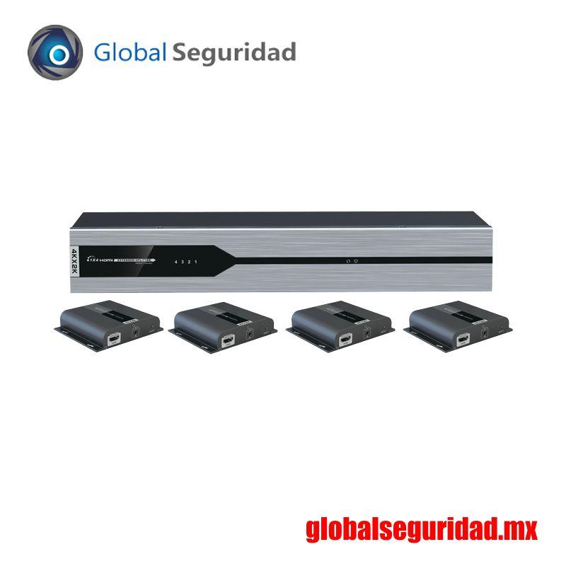 TT3144KHDBITTTX Divisor de ultra alta definición de 1 entrada x 4 salidas 4K x 2K HDMI - foto 3