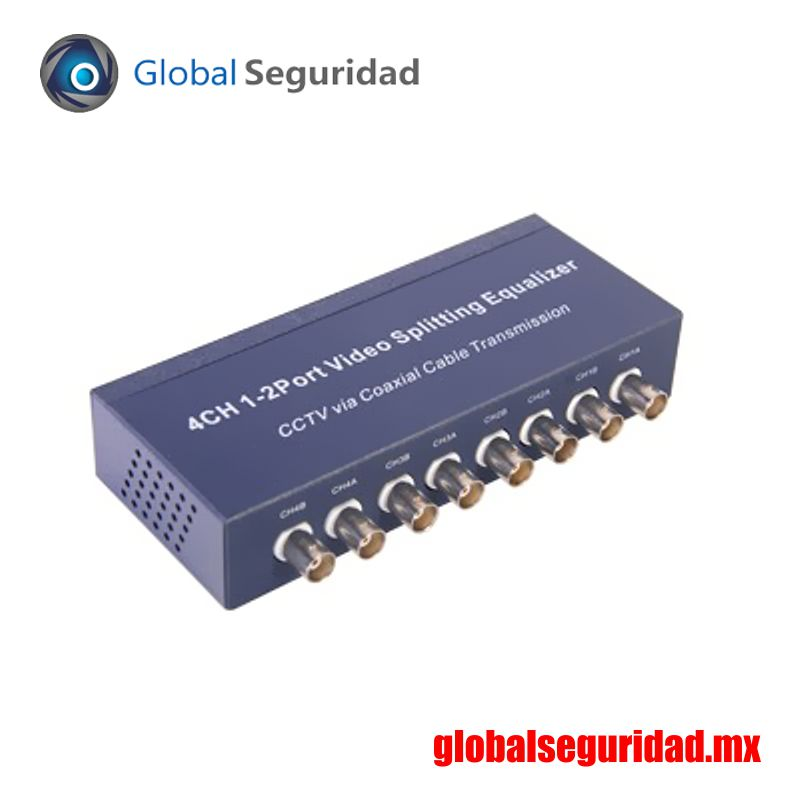 TT4CH12BNC Divisor y Amplificador de Video