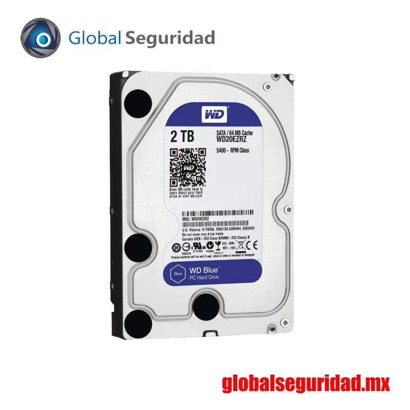 WD20EZRZ Disco duro Western Digital 2 TB SATA